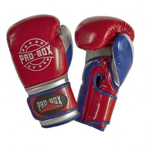 Pro-Box Champ-Spar Boxing Gloves - Red/Blue